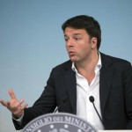 Il presidente del Consiglio, Matteo Renzi, durante la conferenza stampa al termine del Consiglio dei Ministri a Palazzo Chigi, Roma, 11 febbraio 2016. ANSA/UFFICIO STAMPA PALAZZO CHIGI-TIBERIO BARCHIELLI +++ANSA PROVIDES ACCESS TO THIS HANDOUT PHOTO TO BE USED SOLELY TO ILLUSTRATE NEWS REPORTING OR COMMENTARY ON THE FACTS OR EVENTS DEPICTED IN THIS IMAGE; NO ARCHIVING; NO LICENSING+++