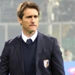 L'allenatore argentino del Palermo, Guillermo Barros Schelotto