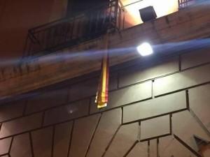 Gay:sindaco di Bari appende nastri colorati a balcone Municipio