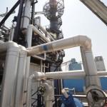 Primo impianto di produzione di idrogeno per uso industriale, inaugurato oggi presso la centrale Enel Andrea Palladio, Fusina (Venezia), 12 luglio 2010.  ANSA/ANDREA MEROLA/GID