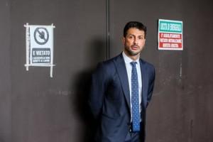 Fabrizio Corona in occasione della registrazione della prima puntata della nuova serie del Costanzo Show, Roma, 28 aprile 2016. ANSA/ALESSANDRO DI MEO