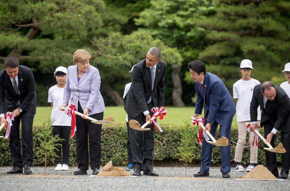 G7 in Giappone incentrato sull'economia mondiale