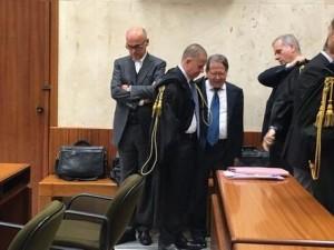 Cagliari Renato Soru in Tribunale