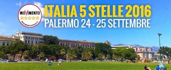 M5s, oggi al via a Palermo la terza edizione di 'Italia 5 Stelle'