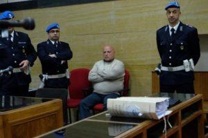 Graziano Mesina a processo in aula