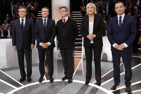Francia: Primo dibattito in tv per l'Eliseo