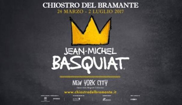 Mostra Basquiat a Roma al Chiostro del Bramante