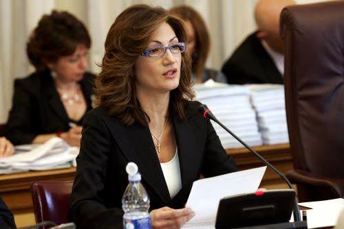 Maria Stella Gelmini e vertice di Forza Italia