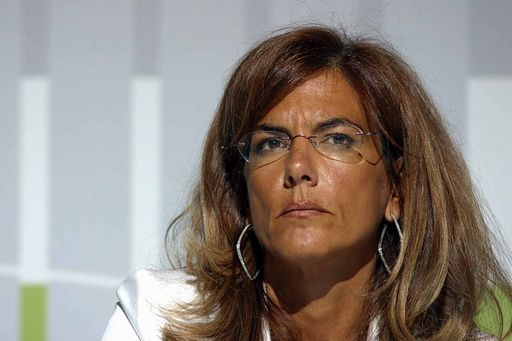 Il presidente di Confindustria, Emma Mercegaglia