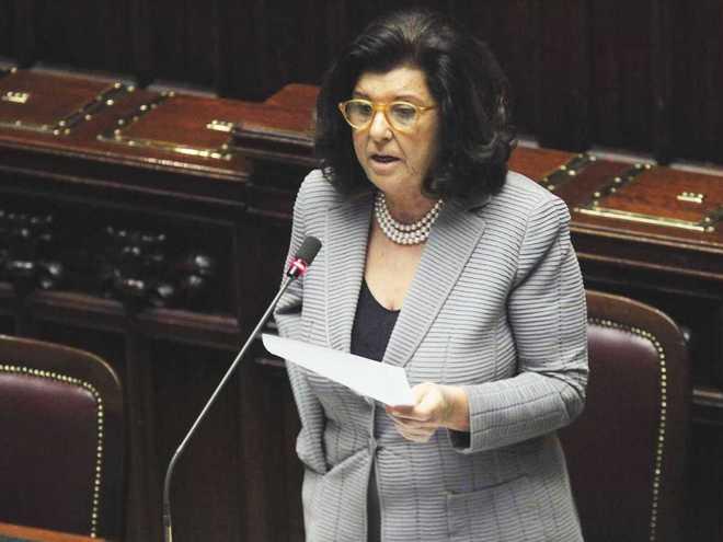 Il ministro della Giustizia Paola Severino