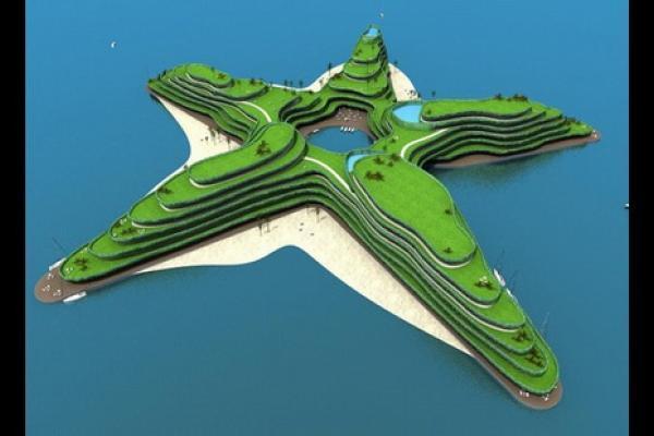 Golf la piattaforma da golf pi grande e costosa al mondo - La casa piu costosa al mondo ...