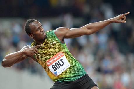 Usain Bolt (foto fonte ansa)