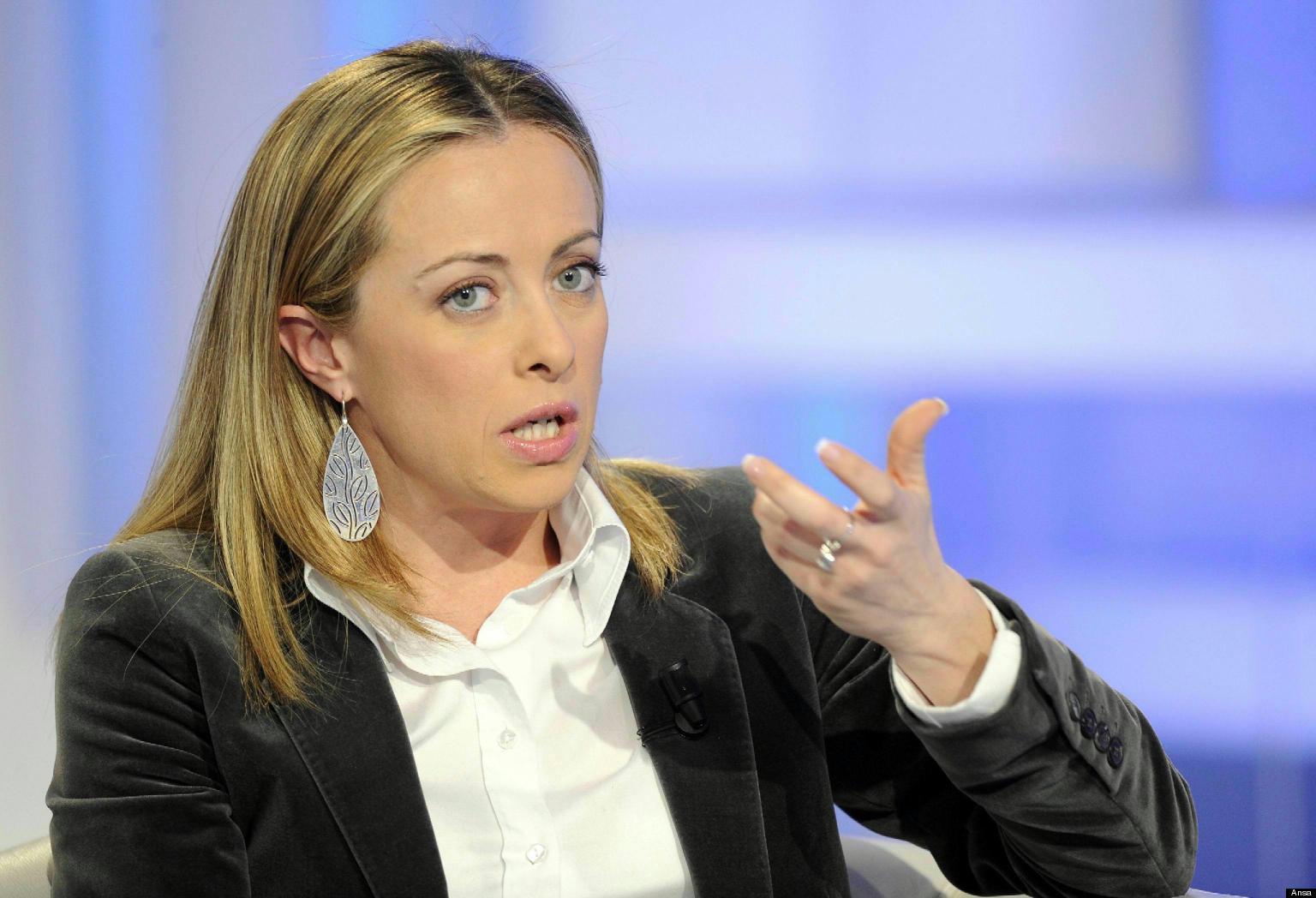 Giorgia Meloni: 'Comizio unitario per chiusura campagna elettorale'