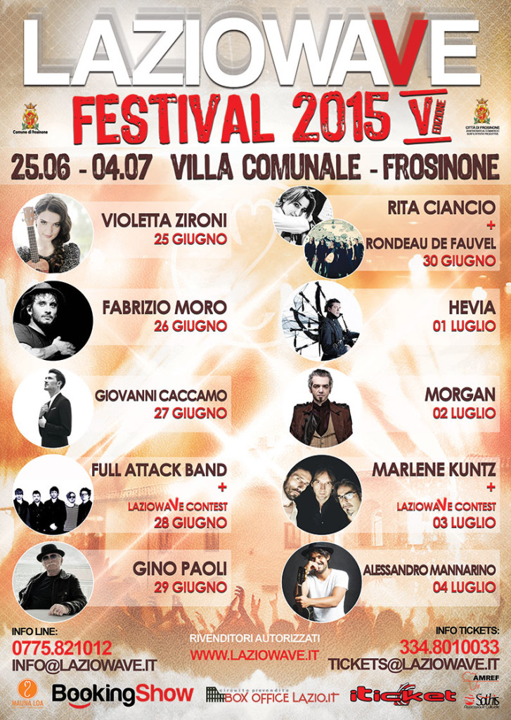 A frosinone il festival di musica live lazio wave progettoitalianews - Giardini dell acropoli arpino ...