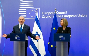 Netanyahu a Bruxelles, mi aspetto europei seguano Usa