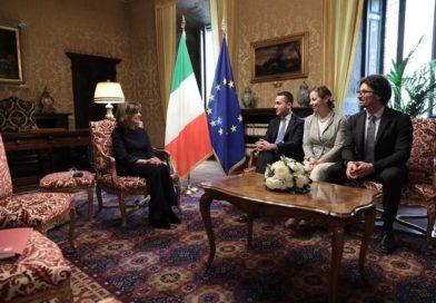Fermi nelle loro posizioni Di Maio e Salvini al primo giro di consultazioni