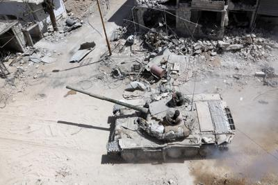 Spari contro ispettori Onu a Douma
