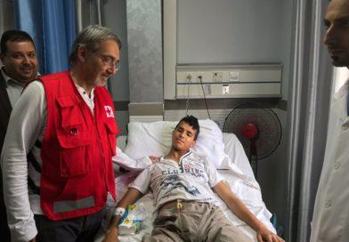 Gaza e Rocca (IFRC): 'Solidarietà alla Mezzaluna Rossa Palestinese'
