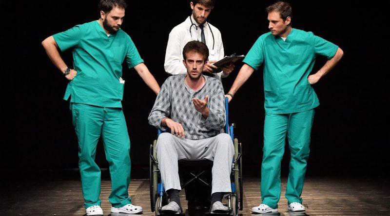 Il 26 e il 27 maggio al Teatro Biblioteca Quarticciolo di Roma in scena  'Reparto Amleto' scritto e diretto da Lorenzo Collalti