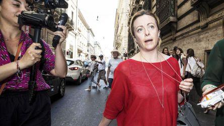 Giorgia Meloni tra Conte e coronavirus
