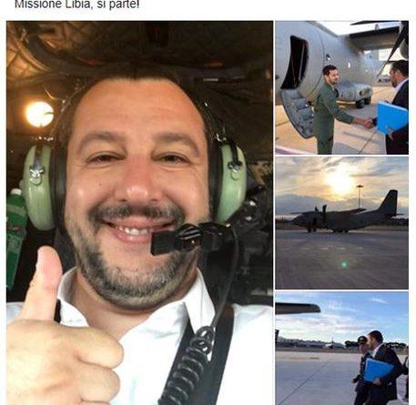 Salvini, hotspot non in Italia