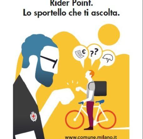 A Milano primo sportello per i Rider