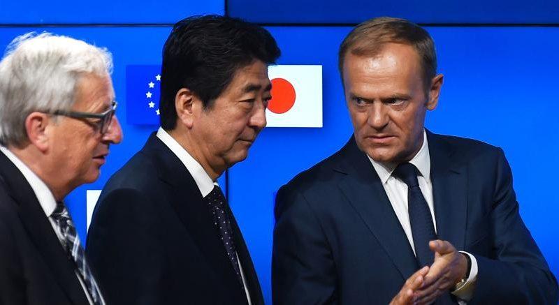 Dazi: Ue e Giappone firmano accordo libero scambio