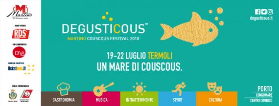 Al via DegustiCous Festival dal 19 al 22 Luglio: a Termoli mare, cous cous, e musica