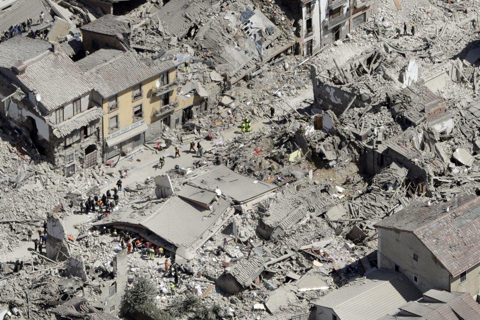 Terremoto: studio per piano ricostruzione centro storico Amatrice