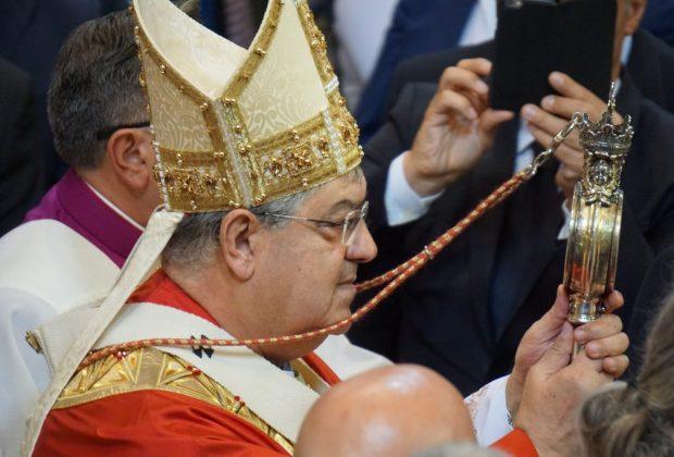 San Gennaro ha sciolto il sangue