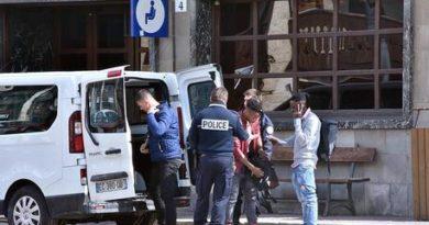 Blitz della polizia francese su treno