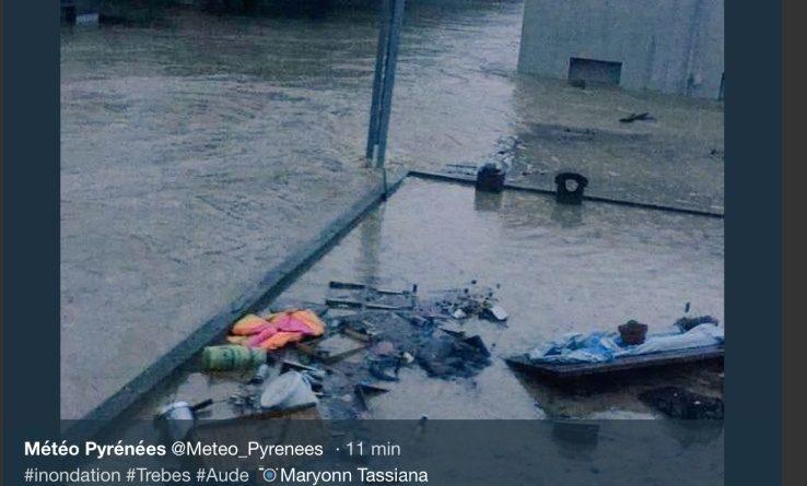 Maltempo in Francia, cinque morti per le inondazioni del fiume Aude