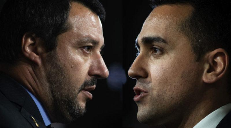 """Rifiuti in Campania. Di Maio a Salvini: """"Gli inceneritori non si faranno: non sono nel contratto di governo"""""""