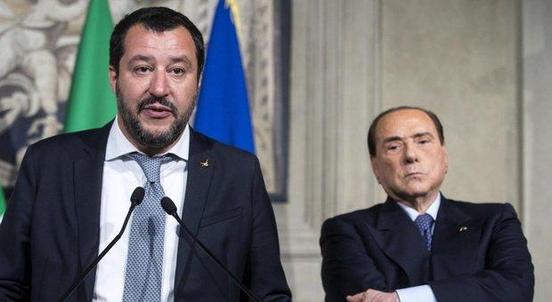 Berlusconi e Salvini tra 'anticamera della dittatura' e  'frustrazione politica'
