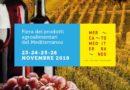 Torna alla Fiera di Roma dal 23 al 26 Novembre Mercato Mediterraneo: cibi/culture/mescolanze
