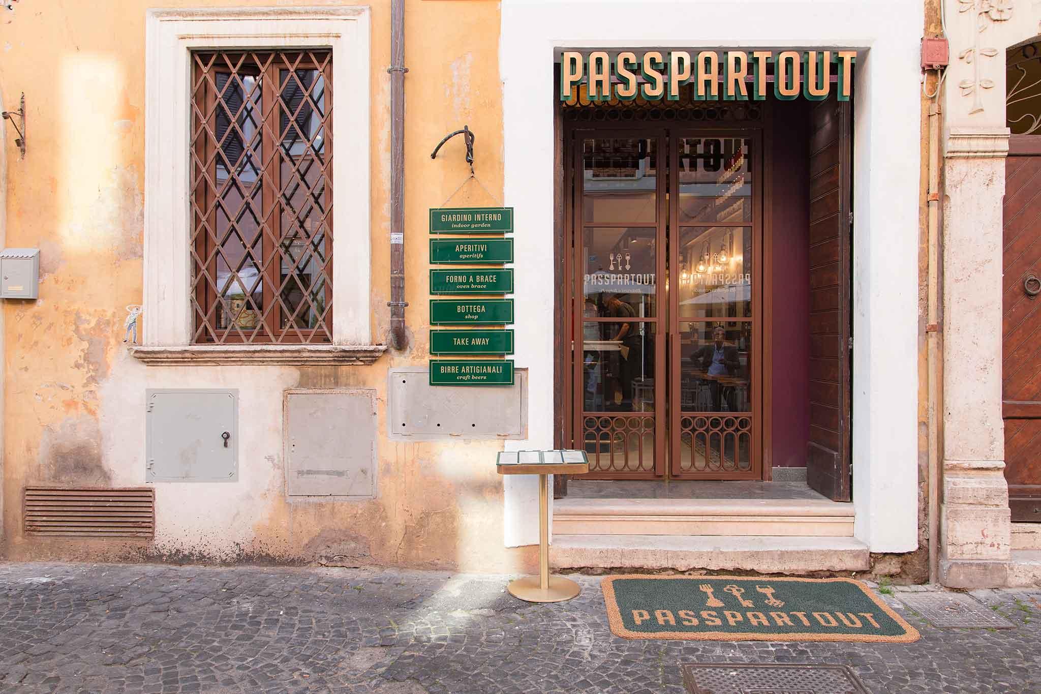 Passpartout a Borgo Pio: mixology, cucina, grill e bottega in un palazzetto del '500
