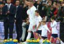 Wayne Rooney saluta nazionale inglese