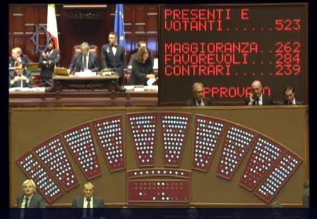 Anticorruzione: 'Governo battuto al voto segreto sul peculato'