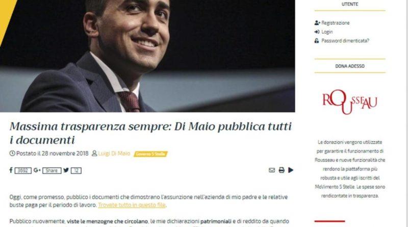 Di Maio e le accuse di lavoro nero… – ProgettoItaliaNews e8944b82248