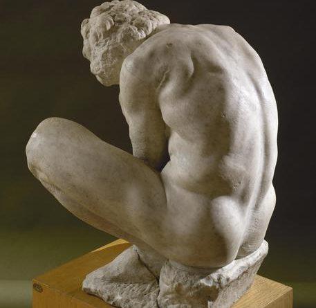 A Roma 'L'Adolescente' di Michelangelo