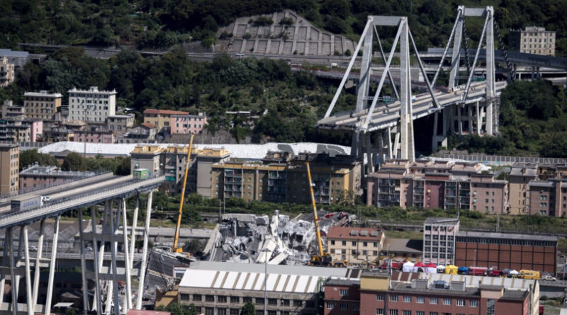 Ponte Morandi, la Procura dà il via libera allo smontaggio del moncone ovest