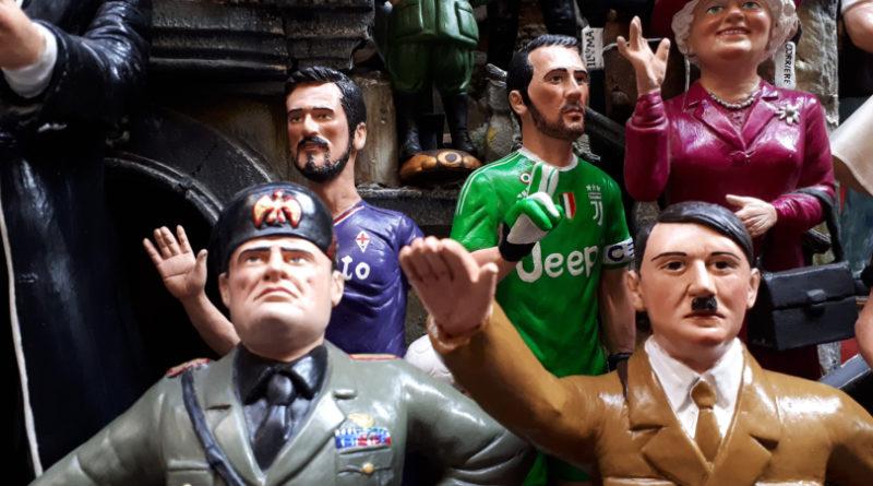 Napoli, anche Hitler tra le statuette di San Gregorio Armeno per il presepio