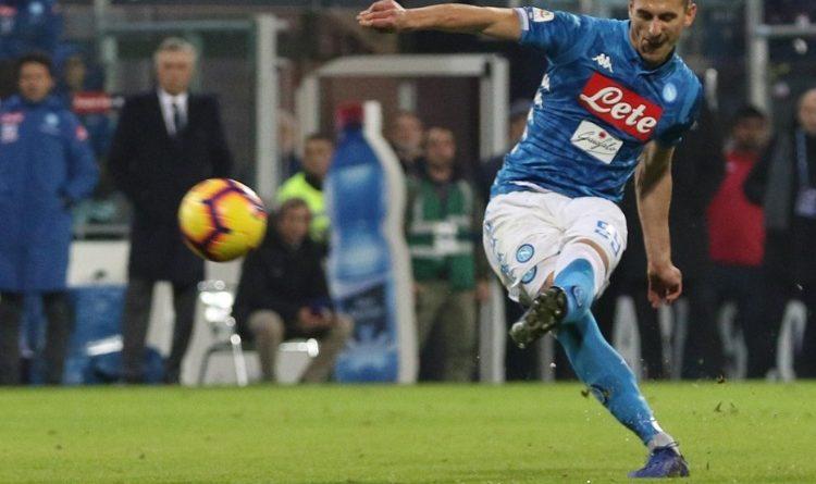 Cagliari-Napoli 0-1: Milik al 91′ regala la vittoria agli azzurri