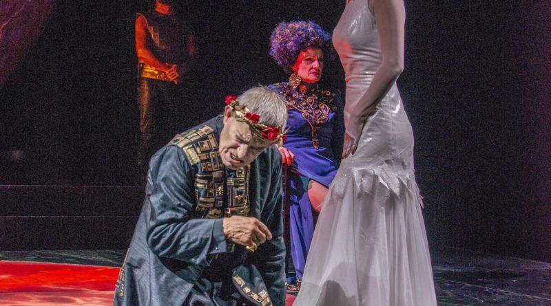 TEATRO ELISEO: Eros Pagni e Gaia Aprea nella 'Salomè' di Oscar Wilde, adattamento e regia di Luca De Fusco