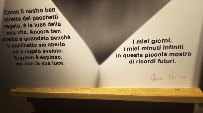 'Luce di Krypton' di Marco Cucurnia, a Roma, presso DMake art  fino al 18 febbraio