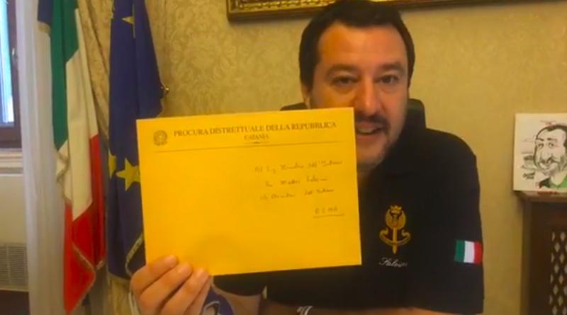 Nave Diciotti, chiesta autorizzazione a procedere per Salvini. Il Ministro: Sì, sono colpevole: vado avanti