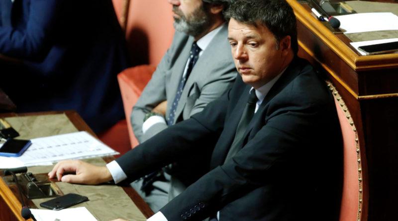Matteo Renzi all'attacco