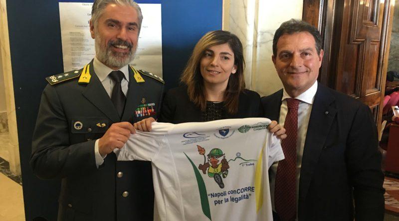 """Venerdì 22 febbraio la presentazione del 1° Trofeo  """"Napoli conCORRE per la legalità"""""""