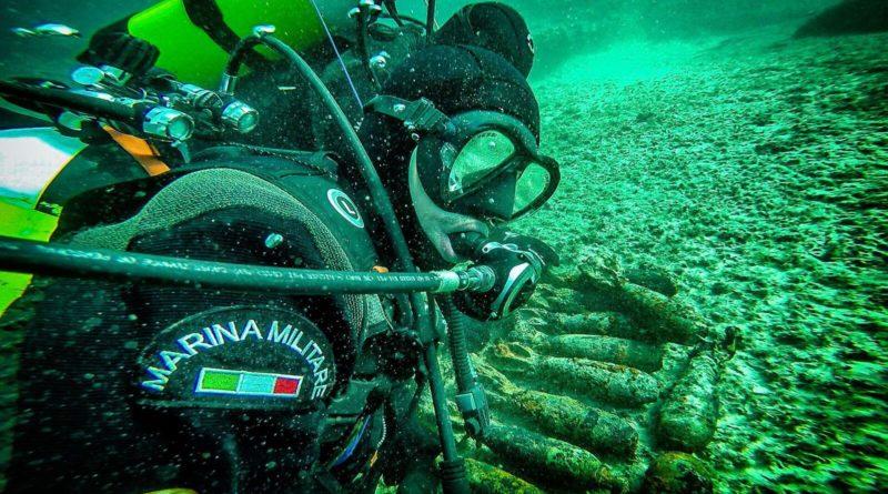 Disinnescati da palombari Marina 51 ordigni bellici in Puglia