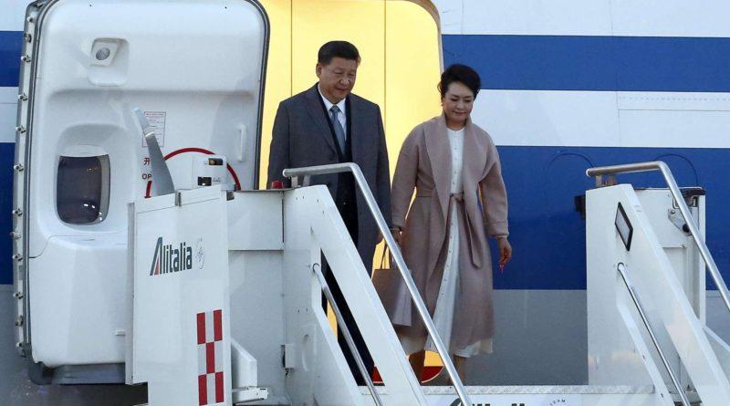 Italia-Cina: visita presidente cinese Xi, oggi l'incontro con Mattarella